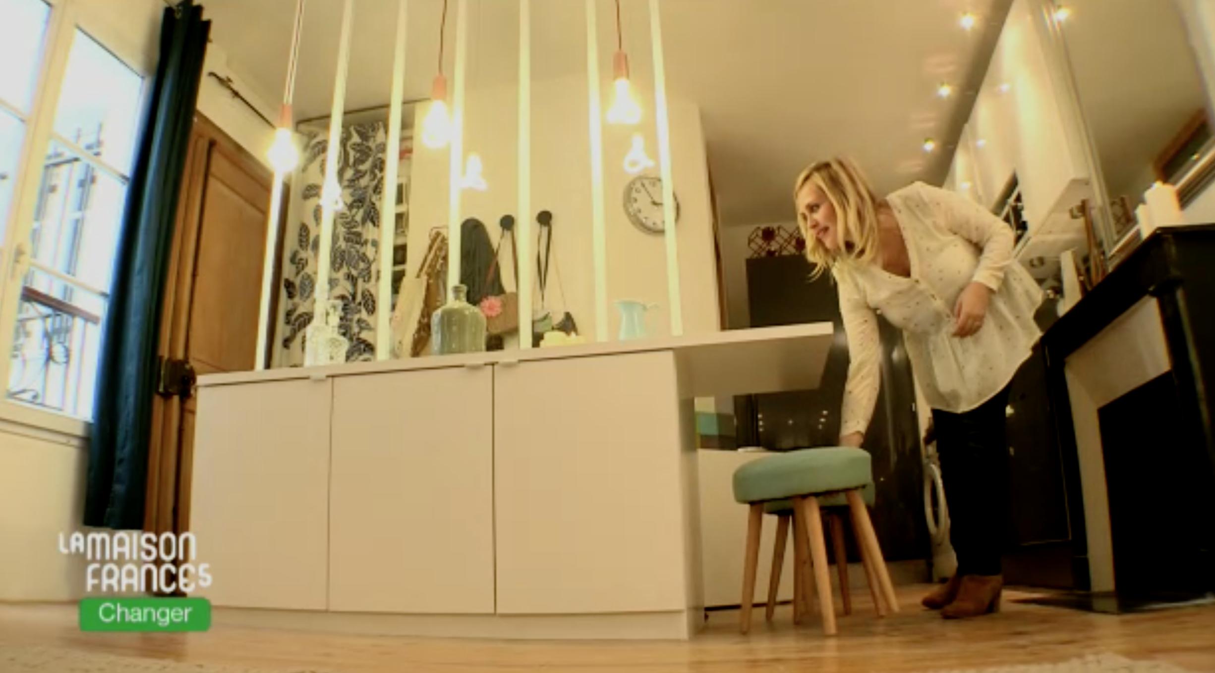 maison france 5 karine et gaelle ventana blog. Black Bedroom Furniture Sets. Home Design Ideas