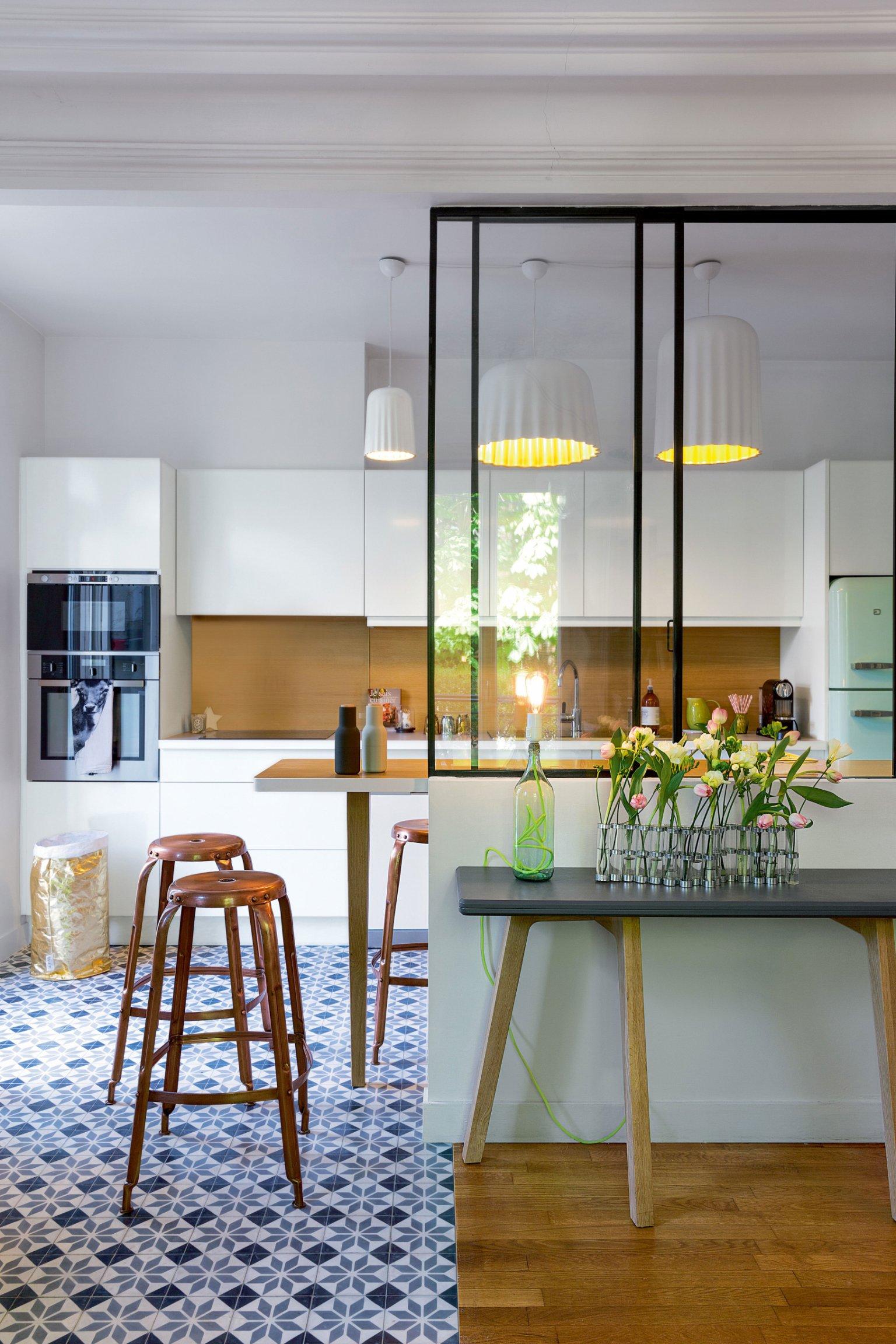 Sceaux maison de famille m well studio - Cuisine maison de famille ...